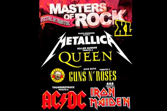 Disfruta de los grandes en tributo: ACDC + Metallica + Queen + Iron Maiden + Guns N' Roses ¡Decibelíos por las nubes!