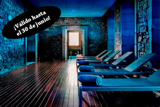 Relájate en el maravilloso Hotel Plaza Orduña con un circuito termal y un completo desayuno bufé o un delicioso menú gourmet ¡Te mereces un capricho!
