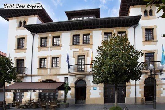 1 o 2 noches con desayuno en el hotel Casa España de Villaviciosa + visita a quesería ¡Disfruta de Asturias!