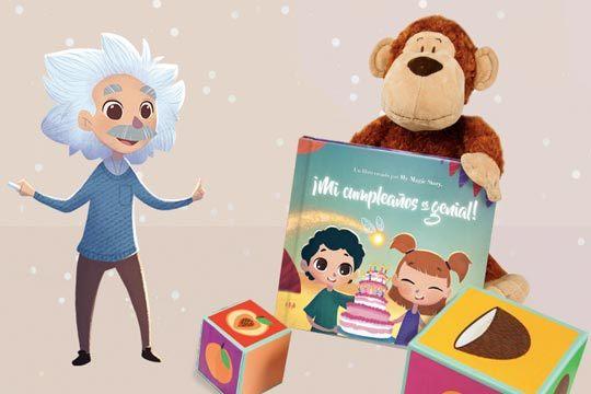 Libro personalizado mágico basado en los números de la fecha de su cumpleaños ¡El mejor regalo!