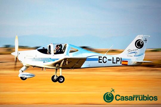 Madrid será testigo de vuelo en avioneta en el Aeródromo de Casarrubios ¡Vuelo en avioneta y pilotaje!