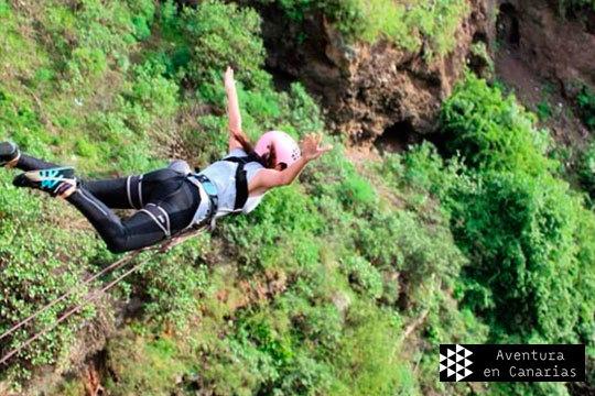 ¡3, 2, 1 salta! Vive un momento único con el salto desde las alturas en Canarias