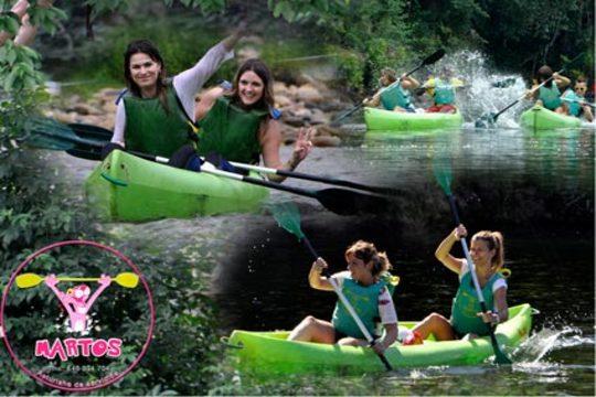 Descenso del Sella en canoa doble o triple ¡Vive el mítico descenso internacional del río asturiano!