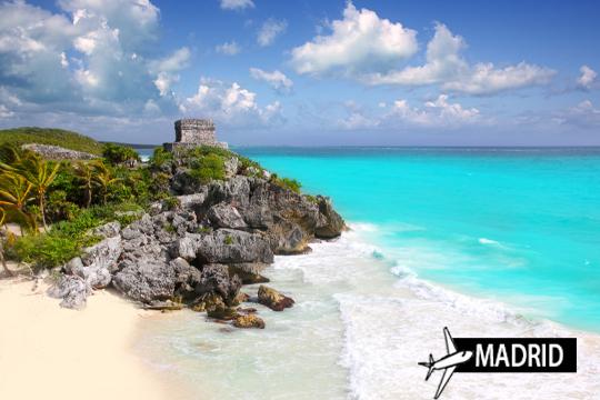 Visita las paradisíacas playas de la Riviera Maya ¡Vuelo desde Madrid + 7 noches de alojamiento en régimen de Todo Incluido!