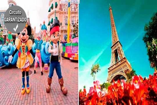 Circuito Parques de atracciones en familia por París ¡En agosto!