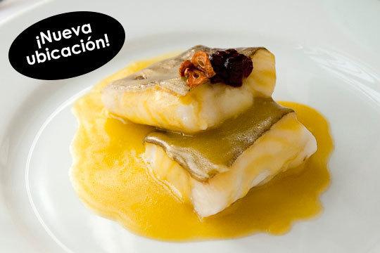 Nuevo menú de 6 platos con bacalao al pil-pil y solomillo (La Casilla)