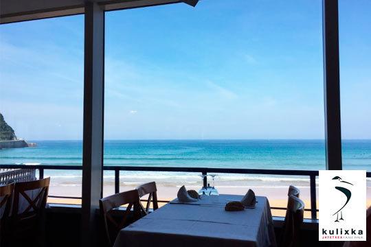 Menú en Kulixka con opción a Museo Balenciaga ¡En la playa de Zarautz!