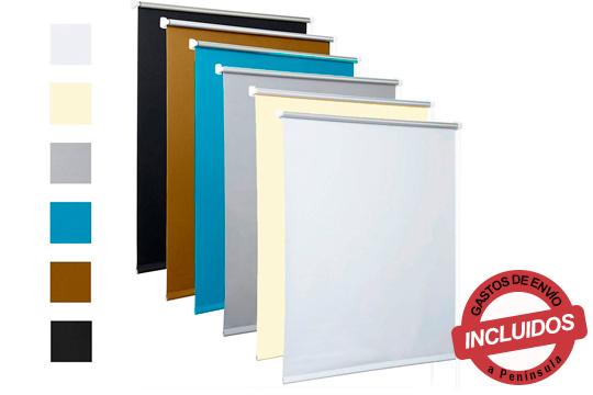 Protege tu casa del calor y aíslala del frío gracias a estos prácticos estores opacos ¡Disponibles en varios colores y medidas!