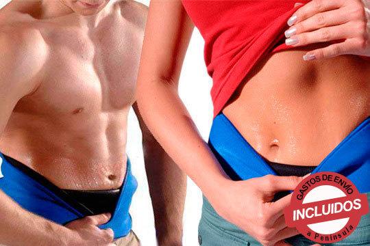 Reduce centímetros y peso con la faja reductora efecto Sauna de neopreno