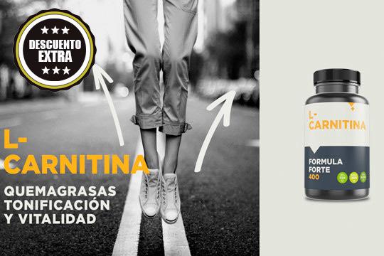 Elimina grasa de forma rápida mientras realizas ejercicio con L-Cartinina ¡Ahora comprando 2 unidades te regalamos otras 2!