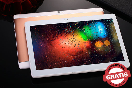 La última tecnología en tu mano con esta tablet de 10 pulgadas, con teléfono sistema Android y mucho más ¡Incluye puntero, funda y protector!