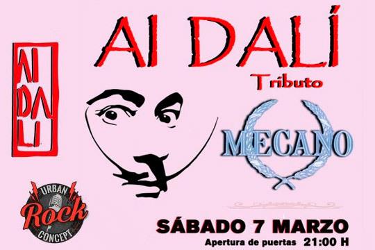 Tributo a Mecano por la banda madrileña Ai Dalí ¡Teletranspórtate cantando himnos como