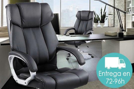 Elegante silla de oficina Boss tapizada en piel sintética ¡Tienes tres  colores entre los que elegir!
