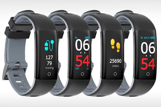 Monitor Con Tu 400 Y Salud Cuida Deportiva ActividadPulsómetroMedidor Bluetooth Hrb Arterial De Presión Esta Smartek Pulsera GqSVUMpz